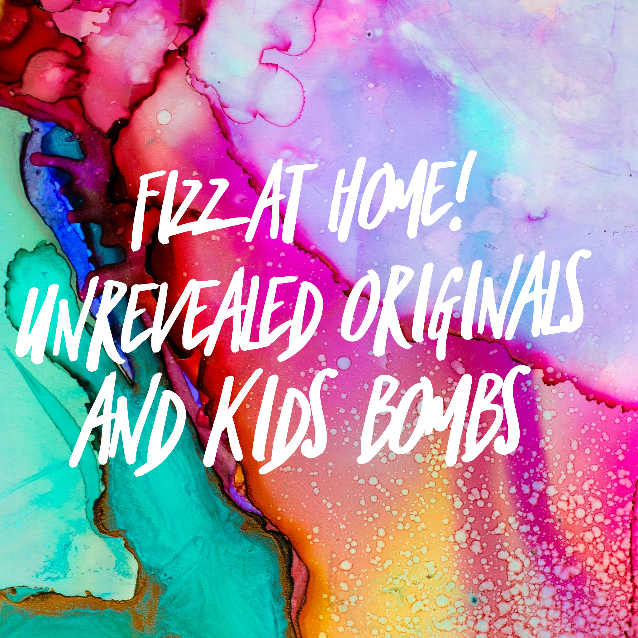 Fizz at Home! Unrevealed Ring Bombs