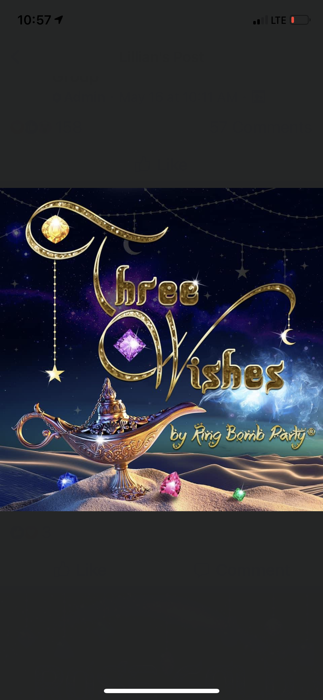Preorder Three Wishes