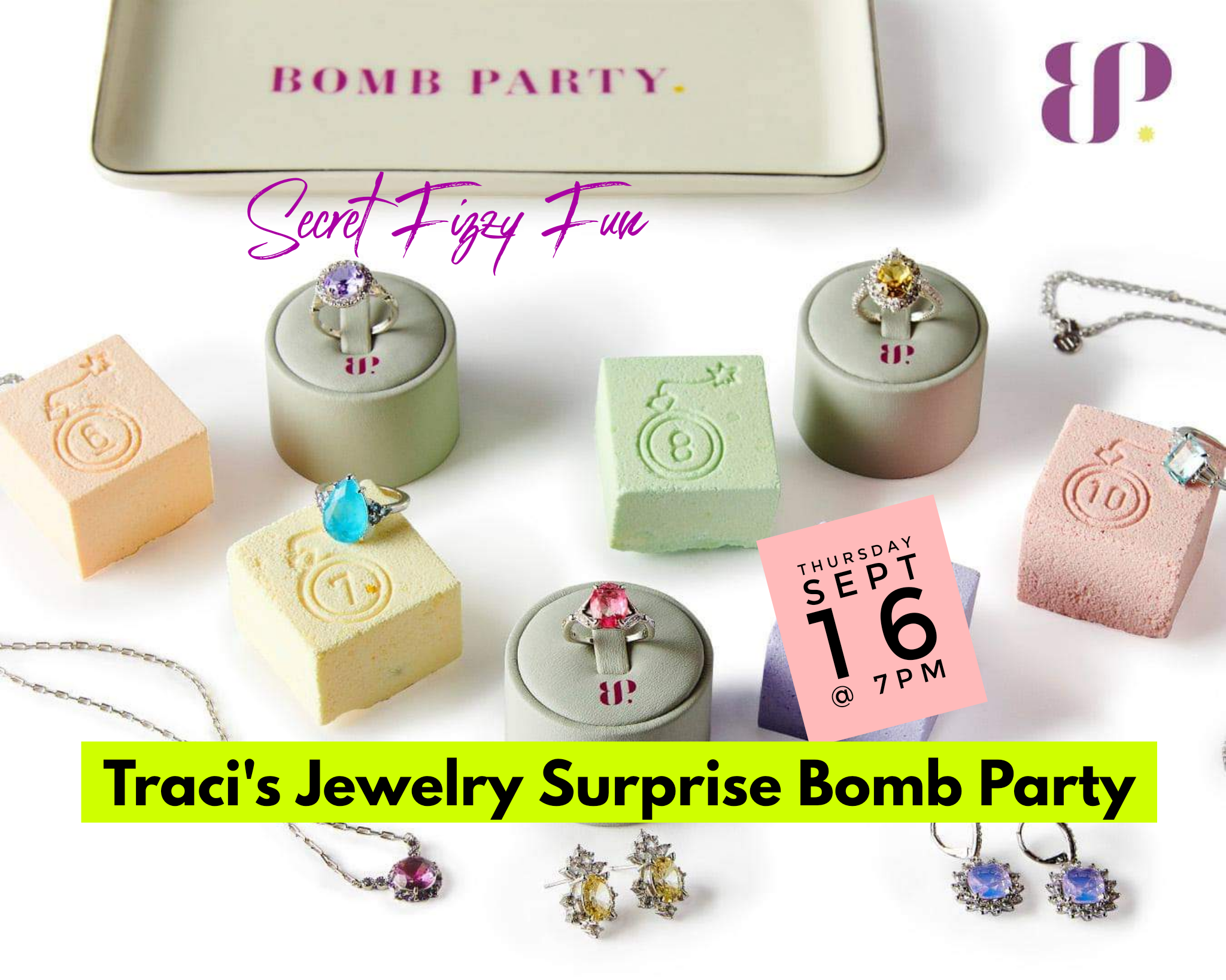 Traci's Surprise Jewelry Bomb Party