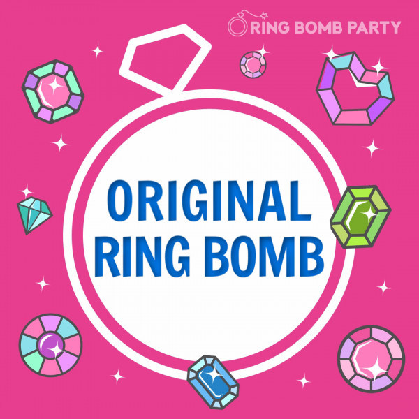 Our Original Ring Bombs are available in ring sizes 6-10 at $17.95 each.