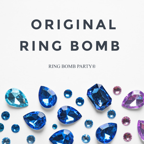 Our Original Ring Bombs are available in ring sizes 6-10 at $19.95 each.