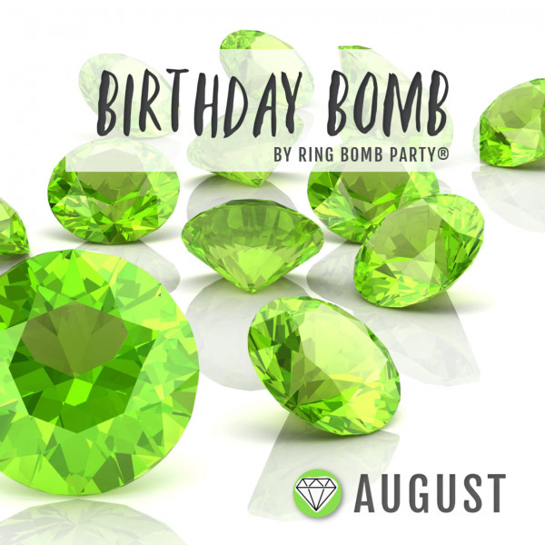 Our August Birthday bombs are finally here!
