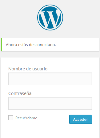Cómo loguearte a tu panel de control de WordPress