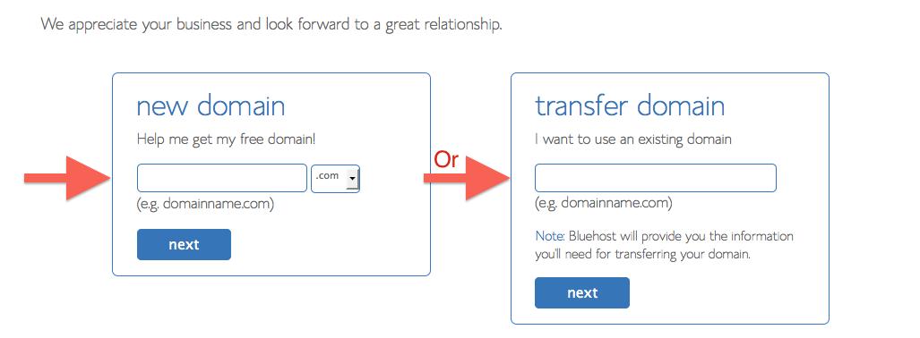 Ingresa la cuenta de dominio en tu hosting