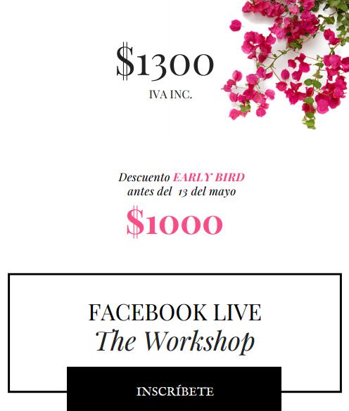 Facebook live banner