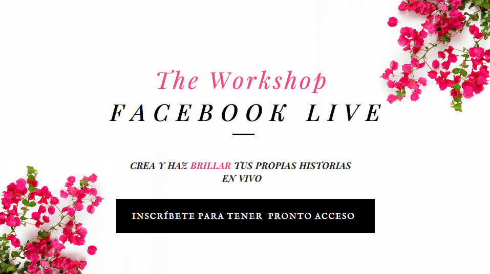 Workshop Facebook Live