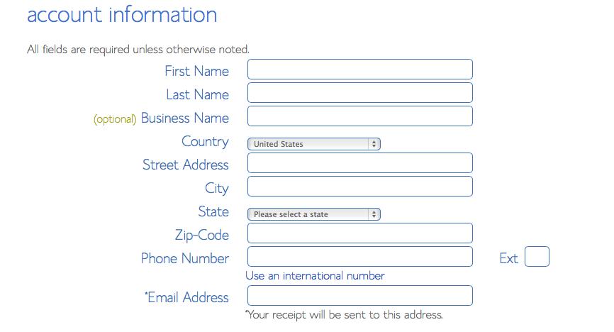 Configuracion de la cuenta en el hosting