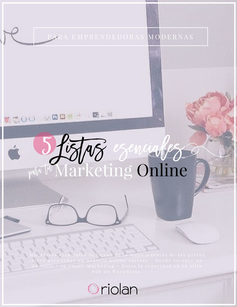 Coaching en Marketing online esenciales