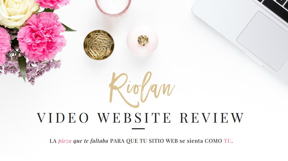 revisión profesional de página web en video