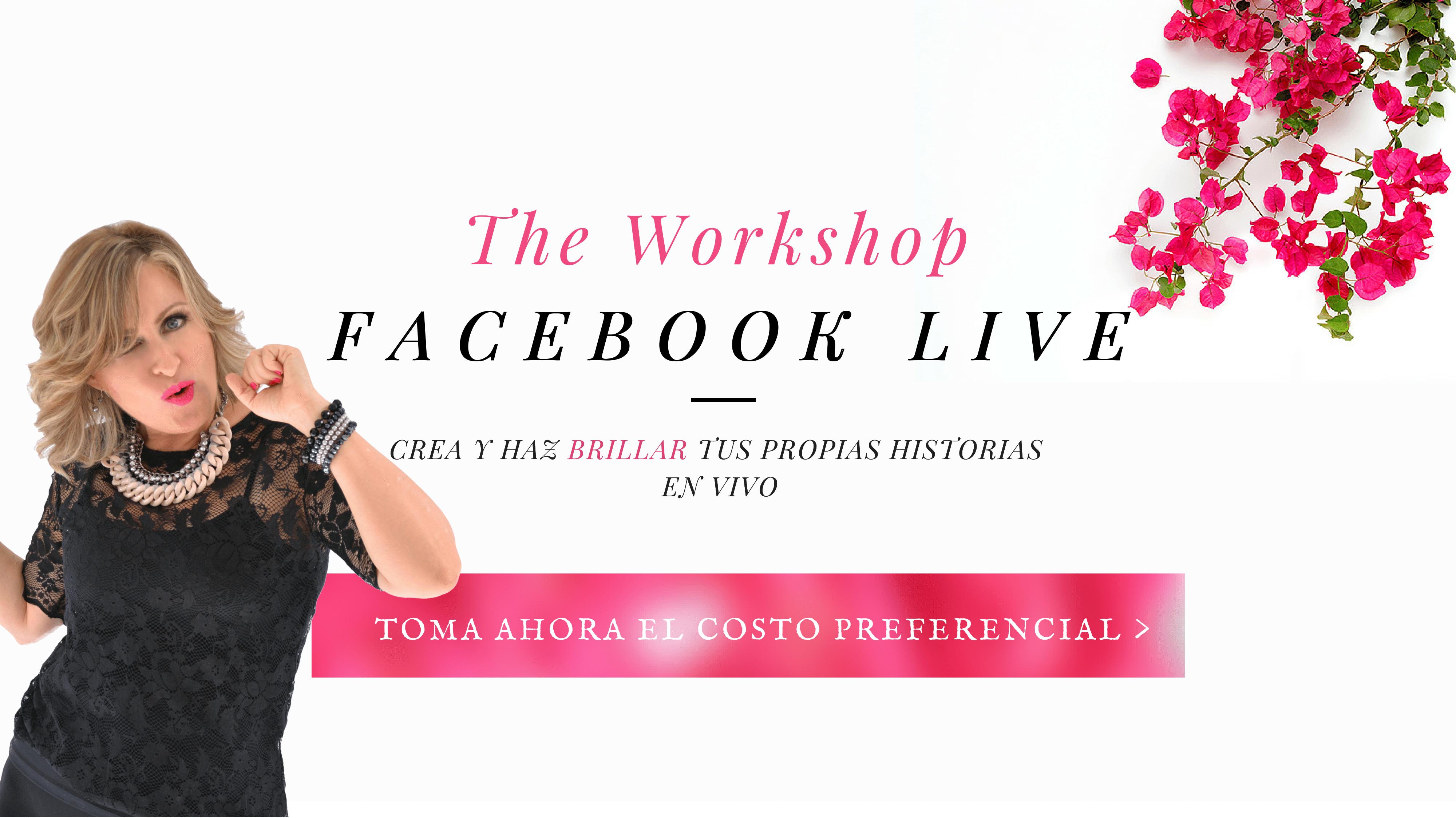 Como hacer transmisiones en vivo en Facebook=