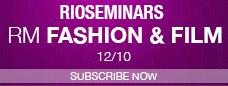 Subscribe for RioSeminars - RioMarket FASHION & FILM