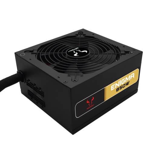 Enigma 850W ATX Power Supply, 80 PLUS Gold, Semi-Modular, PSU - NA
