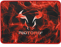 VYRON SMOKEY BULL LARGE MOUSE MAT