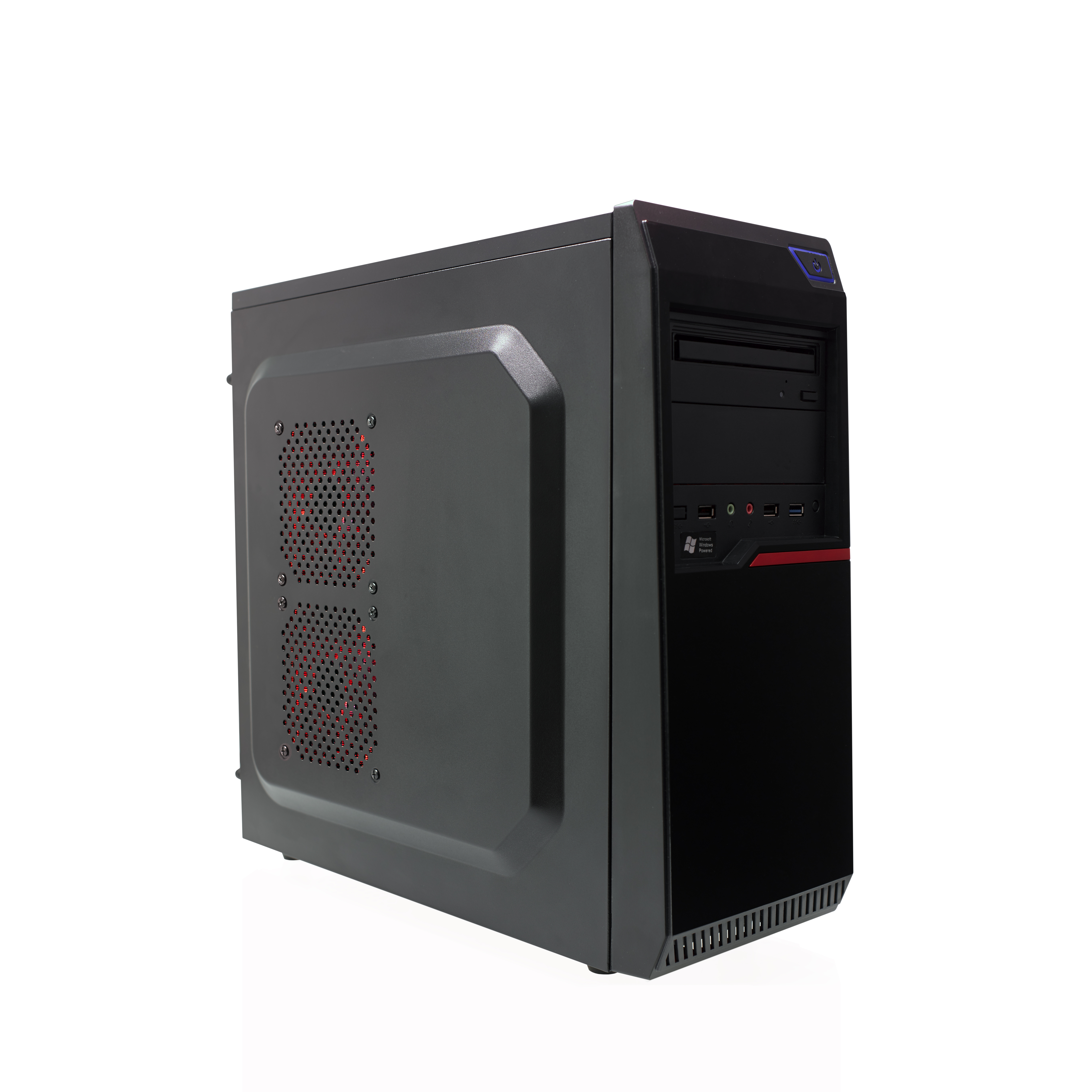 CR100BE Mid-Tower Case