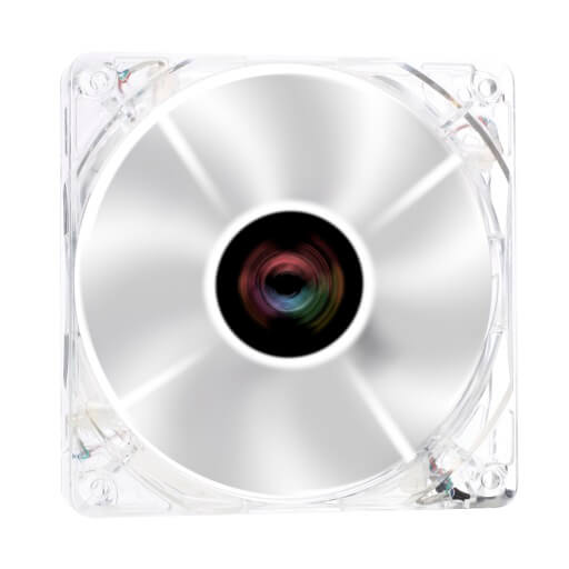 CROSS-X Clear LED 120.0 mm Fan
