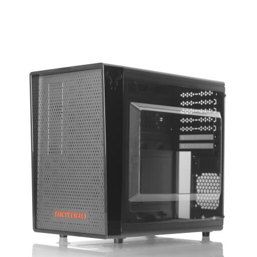 CR1080 Small Gaming  ATX Case with Compartment Design