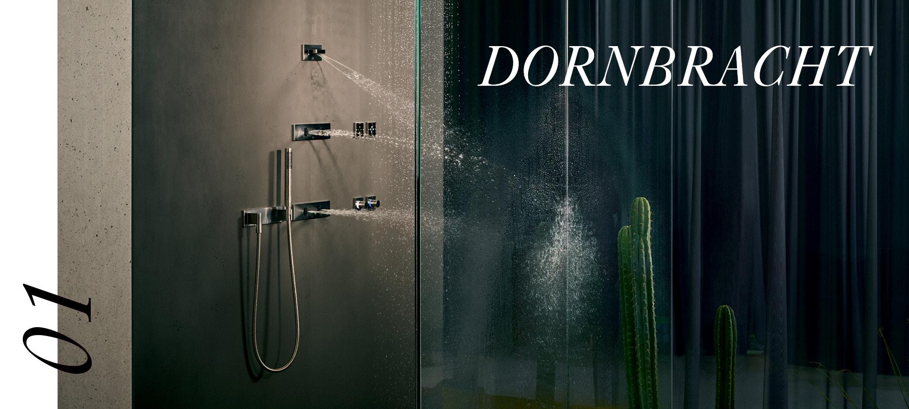 Turn bathroom into spa with Dornbracht LifeSpa's rain shower