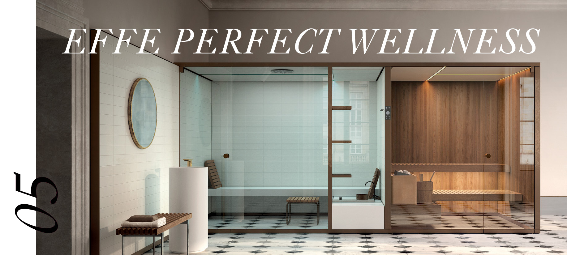 Upgrade your bathroom with Effe's perfect wellness