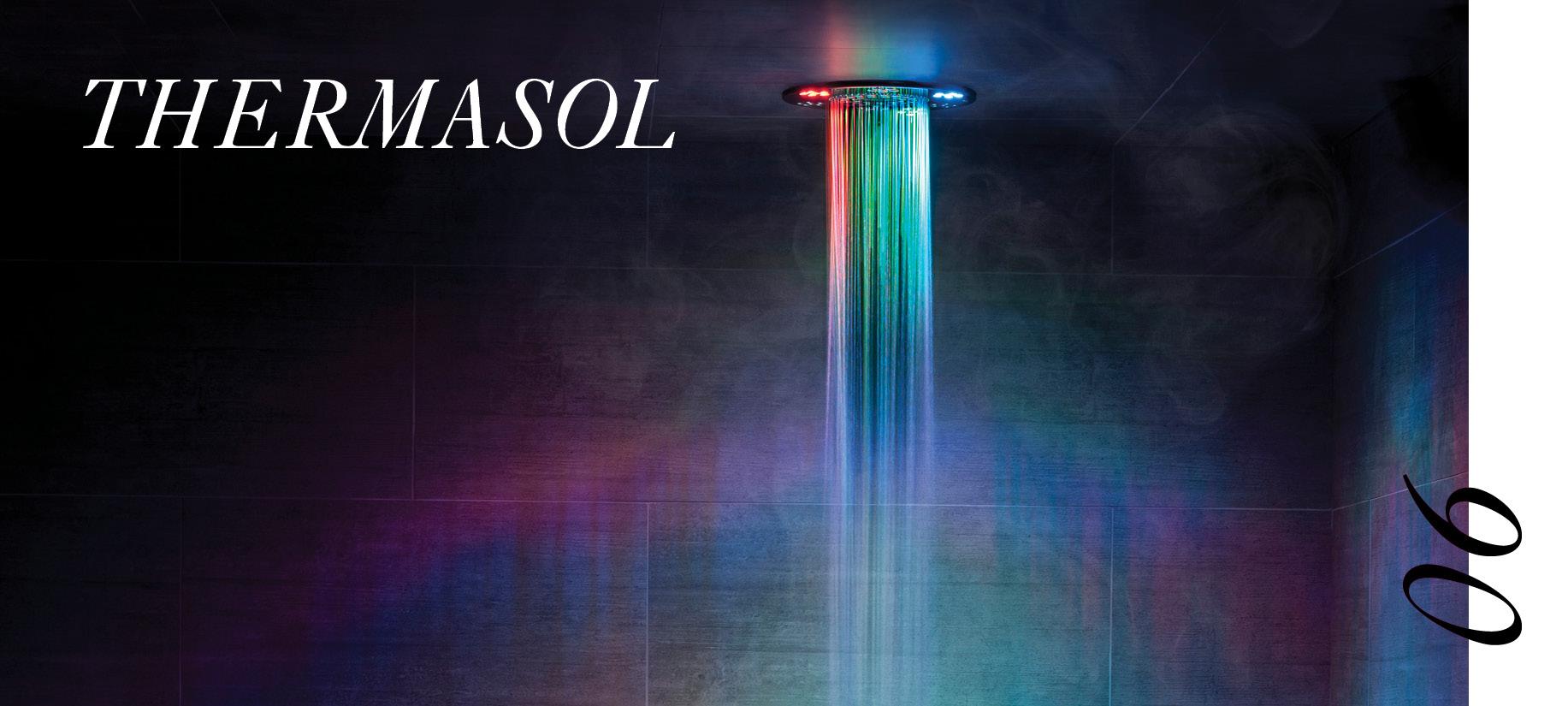 Thermasol's luxury steam shower