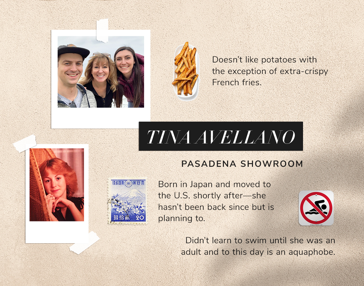 Tina Avellano Doesn't like potatoes with the exception of extra-crispy French fries.