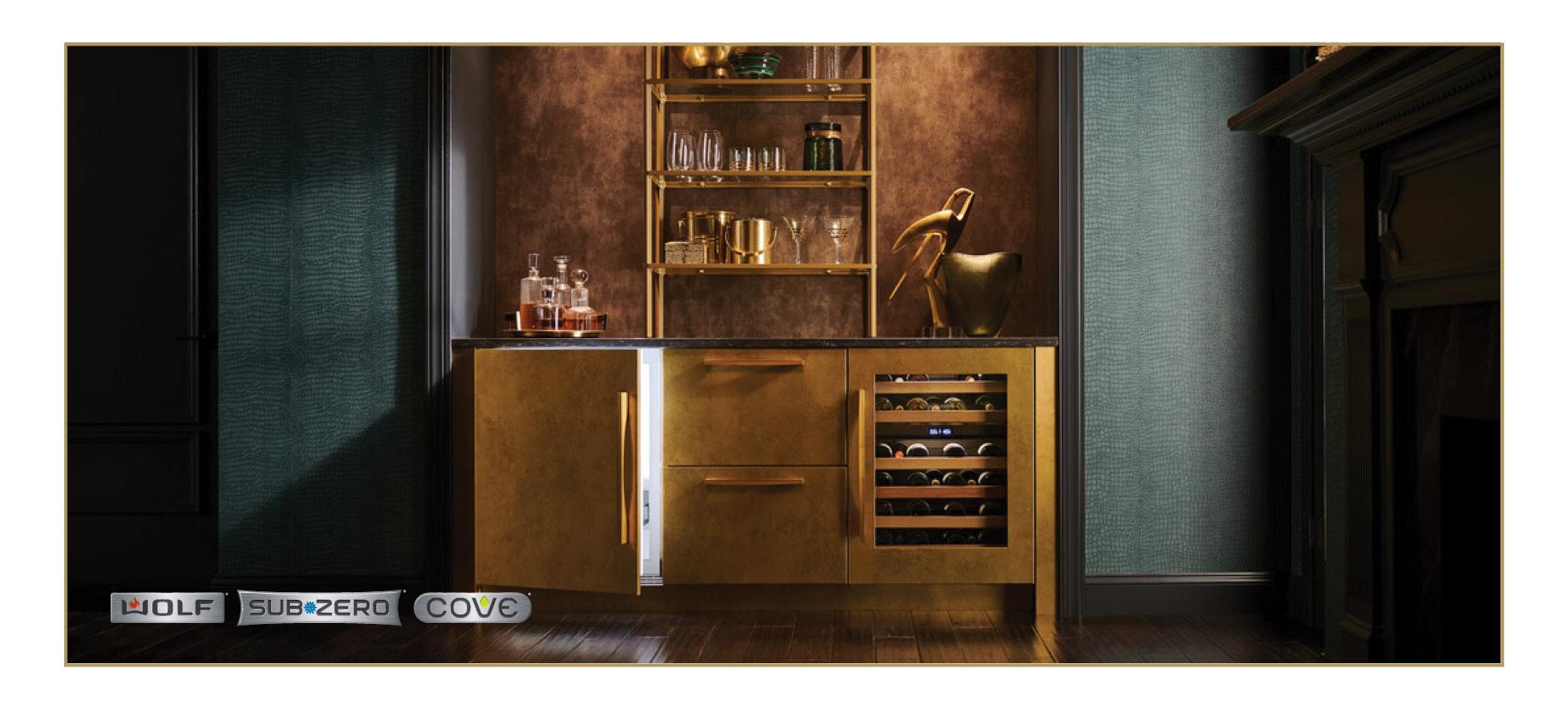 Sub-Zero Designer Series Undercounter Refrigerator