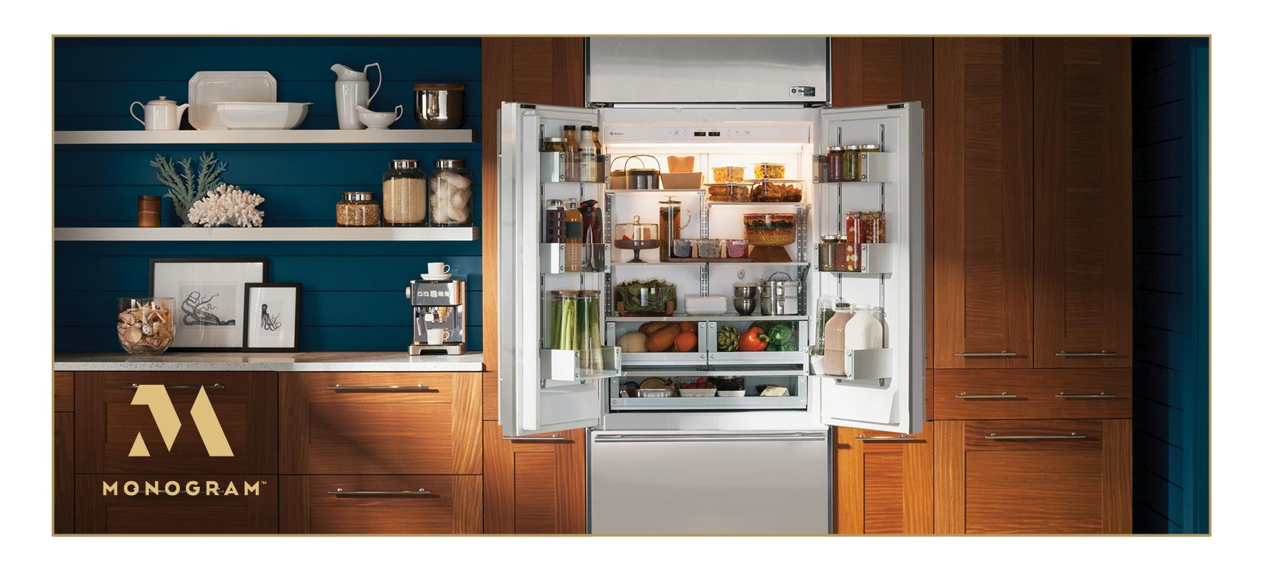 Monogram Built-In French-Door Refrigerator