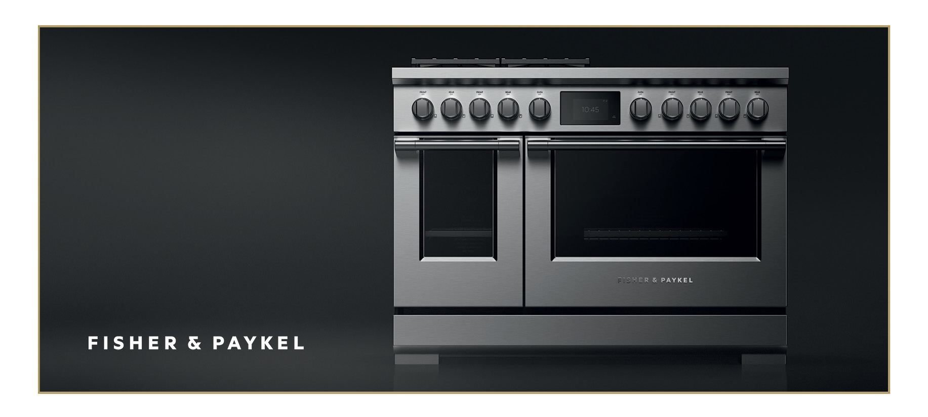 Dark Grey Fisher & Paykel Dual Fuel Professional Range