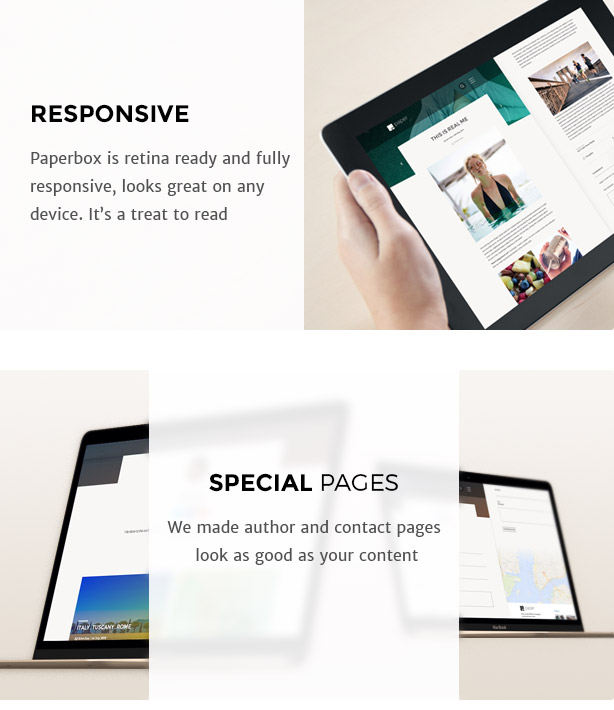 Paperbox - Modern WordPress Blog Theme