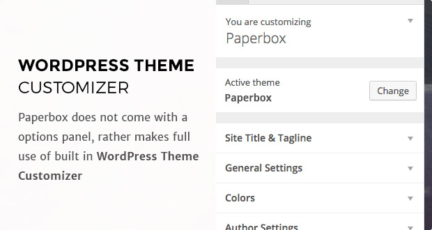 Paper - Beautiful WordPress Blogging Theme