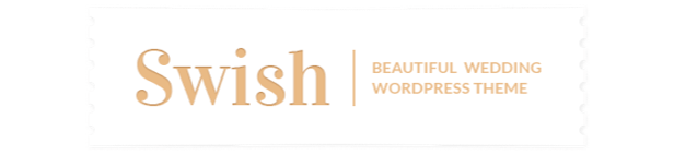 Swish - Modern Wedding WordPress Theme