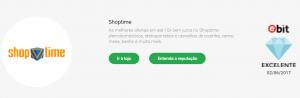 Shoptime é confiavel? | Certificado Diamente E-bit