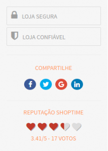 site de compras pela internet confiável
