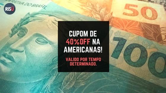 Americanas-Cupom de desconto