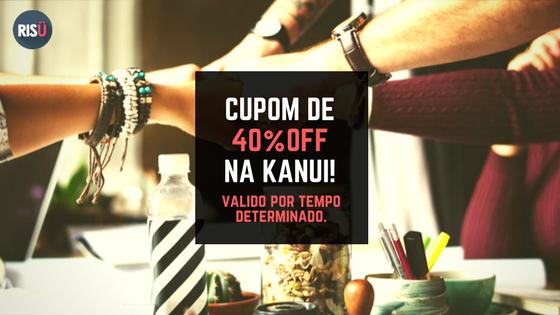 Kanui - Cupom de desconto