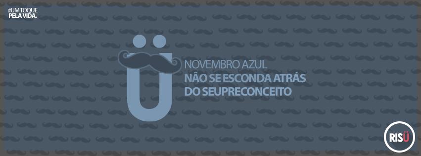 Capa para Facebook Novembro Azul