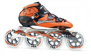 Melhores-marcas-de-patins-Fila_Evolution_Hyper_Laranja