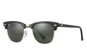 Melhores marcas de oculos de sol -Ray_ban_clubmaster