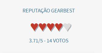 GearBest é confiável risü