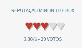 miniinthebox é confiavel