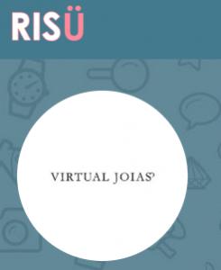 Virtual Joias na página da Risü