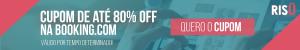 Cupom de desconto para Booking.com