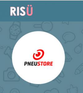 Página da PneuStore na Risü