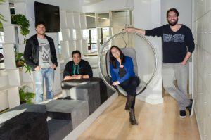 Francis Andrade, Rodrigo Carneiro, Mariana Machado e Lucas Borges são os sócios da startup