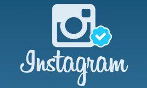 selo azul do instagram