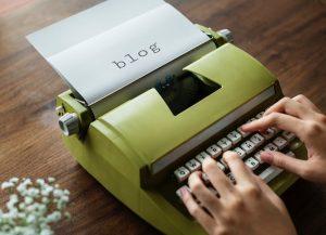 Exibição de conteúdo no blog