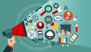 canais de comunicação para receber feedback negativo ou positivo