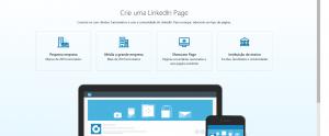 linkedin crie uma página da sua empresa