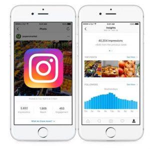 Instagram conta comercial
