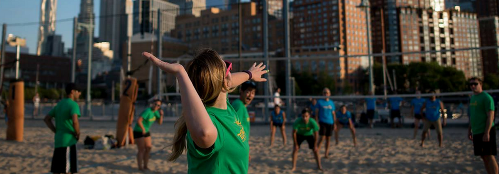 Volleyball - Indoor & Beach Social Leagues - NYC Social