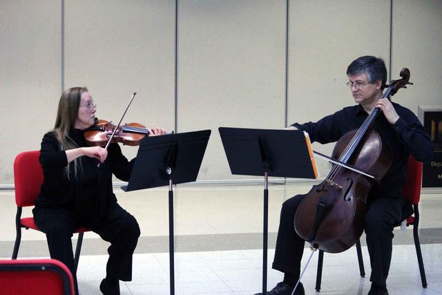 The Landolfi Quartet at the Brown Bag Salon